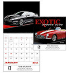 Exotic Sports Car Spiral Wall Calendars